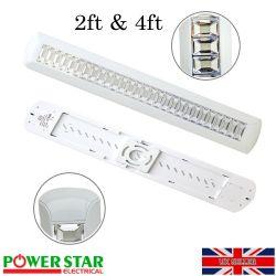 600 x 600mm 45W LED Ceiling Flat Tile Panel Light Downlight Bulb Daylight  6000k